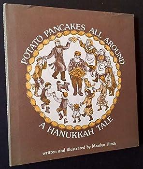 Potato Pancakes All Around: A Hanukkah Tale 0884827623 Book Cover
