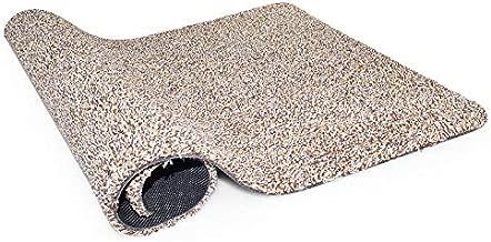 Indoor Outdoor Front Door Mat   Inside Floor Kitchen Mat   Magic Absorbent Dirt Mud Trapper for Dog Kid   Large 20
