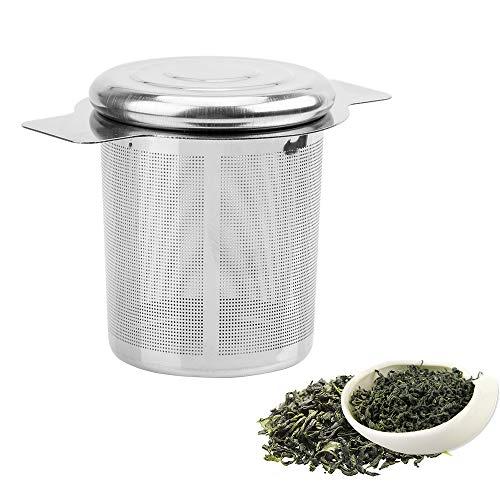 iTimo - Colador de té reutilizable de malla fina, con 2 asas,...