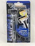Health Smart Men Eclipse 3 Xtra Comfort Razors w/ Aloe Strip 3pk