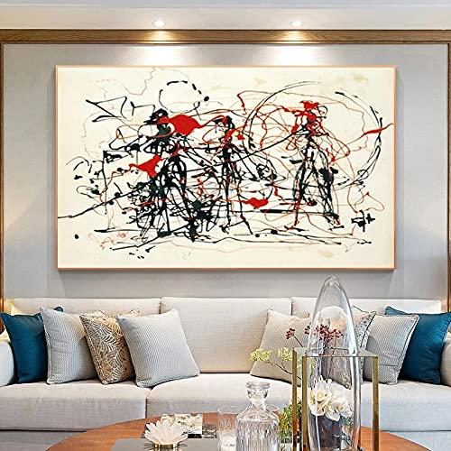 Rompecabezas de 1000 piezas para adultos, línea de arte pintura rompecabezas educación descompresión juguetes decoración del hogar rompecabezas de madera (75 × 50 cm)