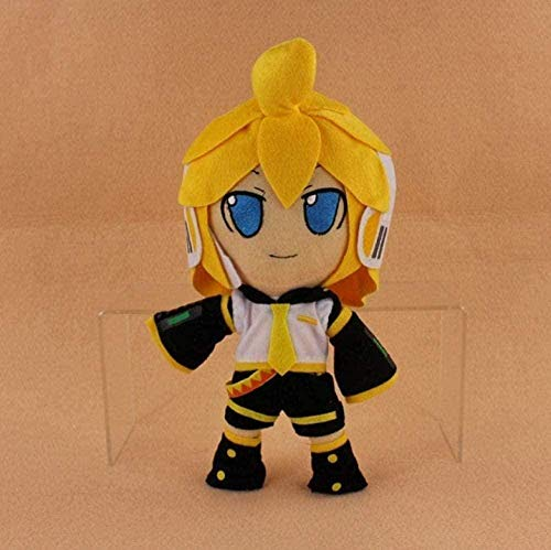 N-L Lovely Hatsune Miku Vocaloid Hatsune Miku Kaito Kagamine Rin Len Plush Soft Stuffed Doll Toys 30Cm Plush Toy Decoration Brithday Gifts