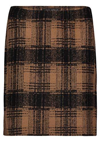 Betty Barclay 5719/8167 Gonna, Multicolore (Black/Camel 9873), 48 (Taglia Produttore: 42) Donna