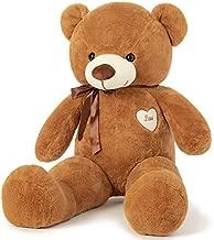 YunNasi Giant Teddy Bear Stuffed Animals 31.5 Inch Big Soft Plush Toy Ideal for Kids Girls Girlfriend