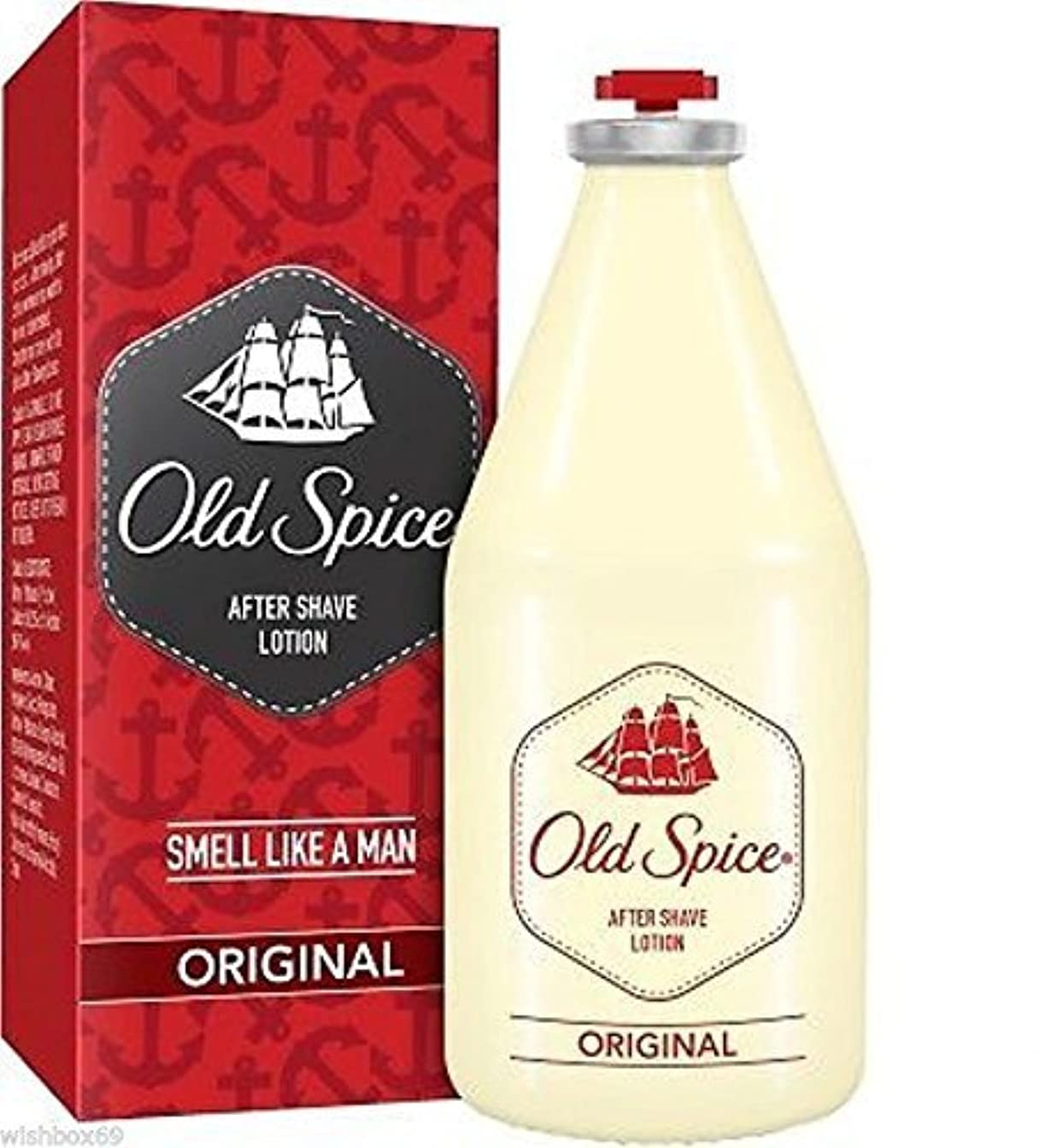 南極グリーンバック依存するOld Spice original After Shave Lotion 150ml