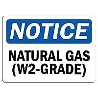 アートウォールデコレーションアルミニウムサイン、天然ガス(W2グレード)サイン-パークサインパークガイド私有地の金属屋外危険サインサイン警告サイン安全サイン危険錫サイン