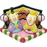 丸和貿易 デザイン小物 おひなさまノーティセット オカメインコ 400838003