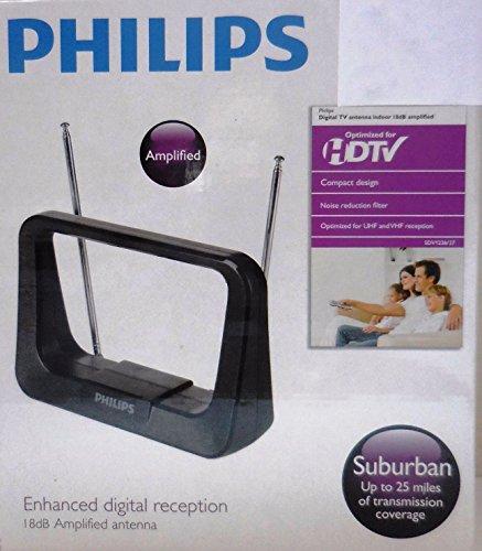 Philips Digital TV Antenna Indoor 18dB Amplified SDV1226/27