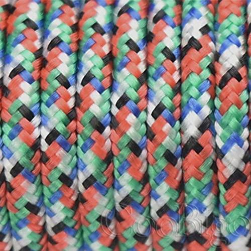 WEDSA 1 cordón de paracaídas de 3 mm y 100 pies, cuerda de paracaídas para pulsera de bricolaje, escalada, senderismo, camping, ropa, accesorios, 303