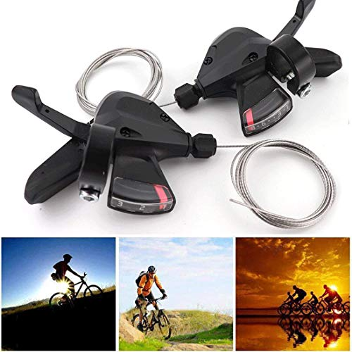 2Pcs Professional Sl-M310 3x8 Speed 24S Shifter Trigger Set Rapid Fire Plus W/Shifter Cable Bike MTB M310 Shifter
