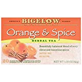 Bigelowオレンジand Spice Herb Tea (6x 20バッグ