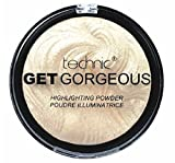 TECHNIC GET GORGEOUS HIGHLIGHTER Shimmer Compact Highlighting Shimmering Powder...