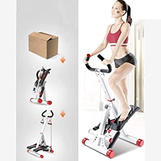 YUANSHOPPING Stepping Cardio Equipment, Indoor Household Mute Foldable Ladder Training Apparatus, LED Digital Display, Wit...