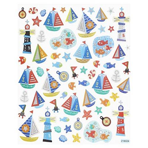 Hobby Design Sticker * Maretim Strand schip Boot zee * Sticker