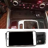 DPG Cargador Inalámbrico Qi para Coche De 15 W, Soporte para Teléfono Inalámbrico, Placa De Carga, Accesorios para Audi Q5 2009-2017 Sq5 2014-2017
