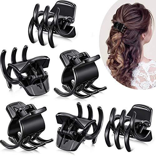 12 Stück Haarklauenclips Mittelgroße Haarklauen Haarstyling-Zubehör in 1,3 Zoll für Frauen Mädchen