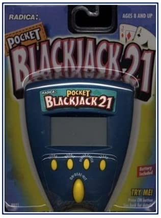 Free Shipping Cheap Bargain Large special price !! Gift Radica Pocket Blackjack 21 New
