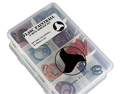 Azodin universel 5/x Code couleur Paintball Joint torique Rebuild kit par Flasc Paintball