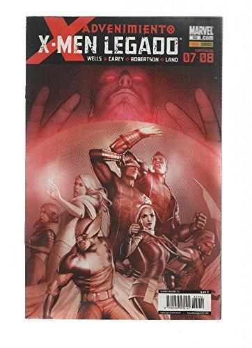 X-MEN LEGADO, Numero 62: Advenimiento 7 y 8 (Panini 2011)