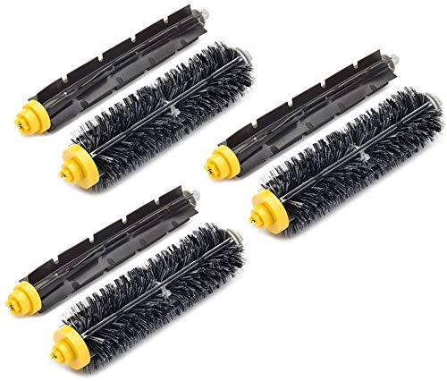 Kit de accesorios de repuesto para filtros de cepillo IRobot Roomba 527e 529 595 600 610 620 630 645 650 655 660 680 Series Filtros Cepillo (color: 3 juegos)