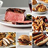 4 (5 oz.) Top Sirloins   8 (3 oz.) Oven-Roasted Chicken Breasts 8 (4 oz.) Omaha Steaks Burgers   8 (3 oz.) Italian Sausages 1 (16 oz. pkg.) Omaha Steakhouse Fries   8 (4 oz.) Caramel Apple Tartlets Delivered To You - Hand-packed with dry ice - your d...
