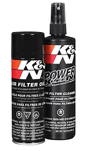 Limpieza y mantenimiento del filtro – Kit de spray K&N