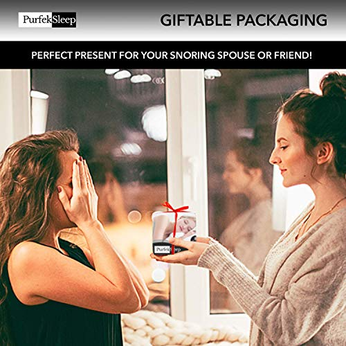 Anti Snoring Devices - Snoring Solution - Internal Nasal Dilator - Snore Solution - Nose Snore Device - 8 Nose Vents - FDA Nose Plugs - BPA Free Stopper Nasal Dilators - E-Book Included (Transparent)