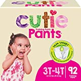 Cutie Girls 3T/4T Refastenable Potty Training Pants, Hypoallergenic...