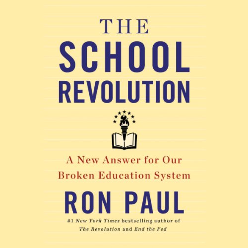 The School Revolution audiobook cover art