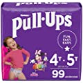 Pull-Ups Girls' Potty Training Pants Training Underwear Size 6, 4T-5T, 99 Ct, One Month Supply from Kimberly-Clark Corp.