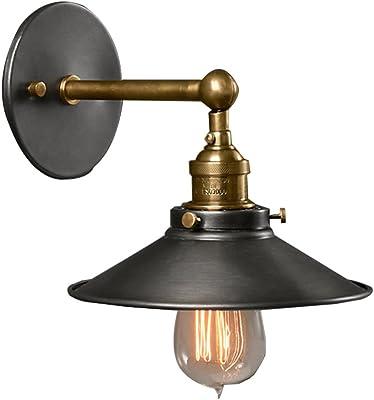 Verre Unimall Applique Murale Industrielle 40w Rétro Lampe FlK1cJ