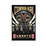 GNKIO Karate Kid Cobra Kai Poster Poster Dekorative Malerei