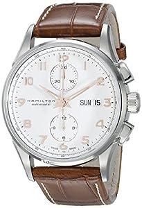 Hamilton Jazzmaster Maestro White Dial Leather Strap Mens Watch H32576515 image
