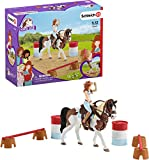 SCHLEICH 42441 Hannahs Western Reitset Horse Club