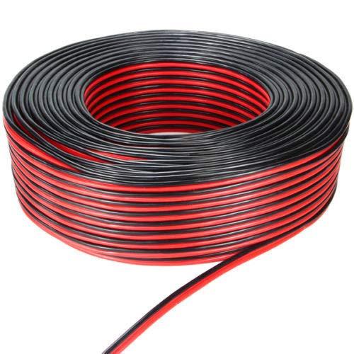 phil trade 1 m luidsprekerkabel 1,5 mm2 rood/zwart | boxkabel | bi-wiring | tweeter