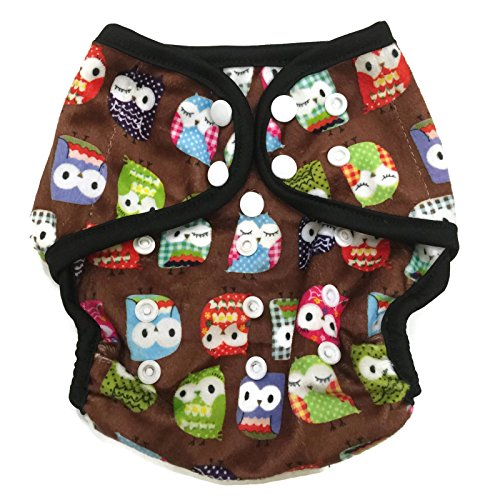 2 Inserts One Size, Camouflage-Minky BB2 One Size Printed Bamboo Pocket Snaps Cloth Diaper//Nappy