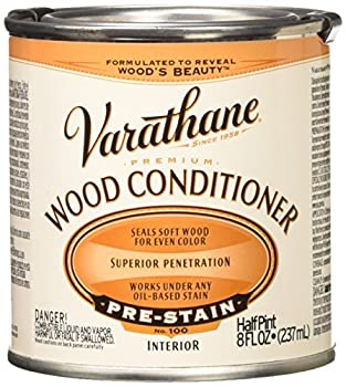RUST-OLEUM 211776 Oil-Based Wood Conditioner 1/2-Pint Clear