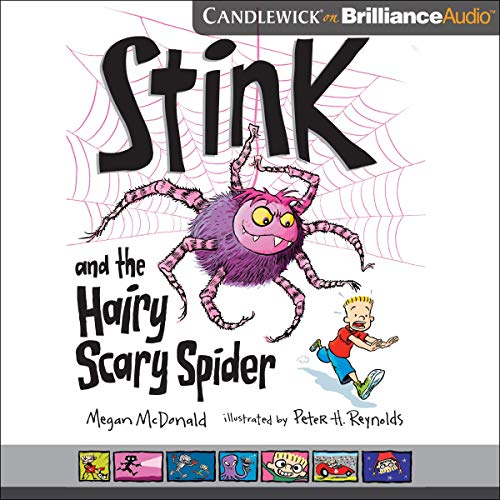 Stink and the Hairy Scary Spider cover art