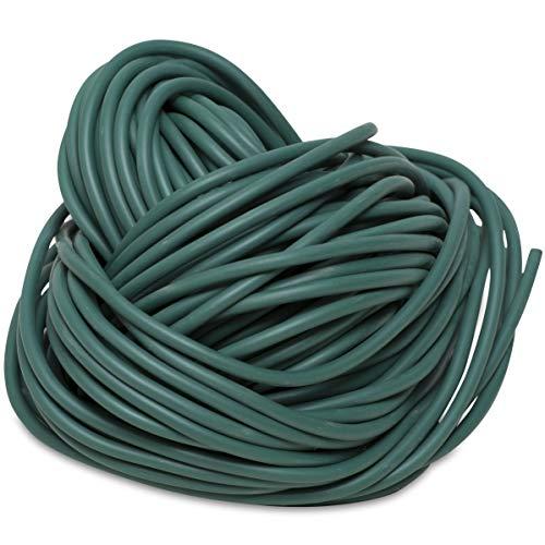 Windhager Kunststoffschnur mitwachsend, Bindeschlauch zur Befestigung von Pflanzen an Rankgittern oder Stäben, grün, 23m, Ø 3mm, 73565