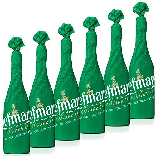 De cerveza lámpara de MANS incandescente (6 botellas), 0, 75l, detener, fabricada en piel de Bélgica