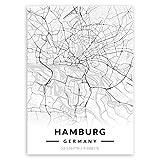 Murrano Poster Wandbilder Deko Wohnzimmer - Weltstädte -