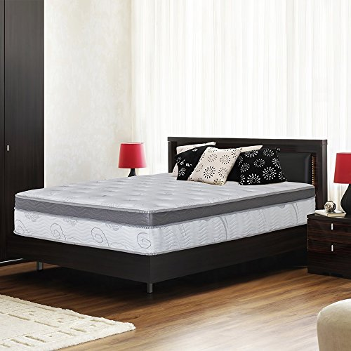 Olee Sleep 13 inch Galaxy Hybrid Gel Infused Memory Foam and Pocket Spring...