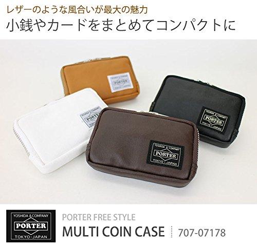 ポーター・フリースタイル・コインマルチケース(ブラウン)707-07178