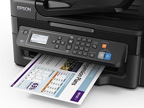 Epson EcoTank ET-4500 - Impresora multifunción (WiFi, inyección de tinta), color negro