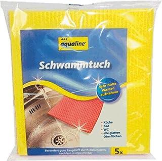 Aqualine 900602225Sponge Towel 18x 19cm Set of 5
