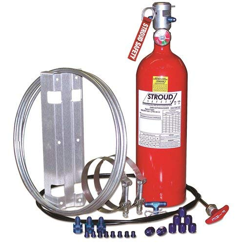 Stroud Safety 9352 10 Fe-36 Fire Suppressnsystem, 1 Pack