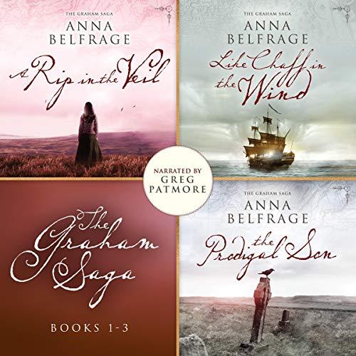 The Graham Saga, Books 1-3 cover art