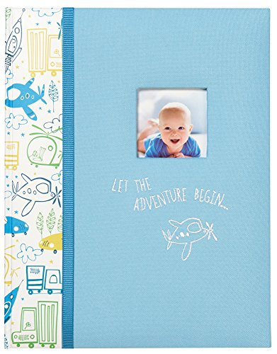 """C.R. Gibson""""Let The Adventure Begin"""" Perfect-Bound Memory Book for Newborns and Babies, 64 Pages, 9 in. W x 11.125 in. H"""