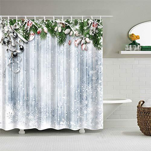 XCBN Cortina de Ducha Impermeable con Estampado de Rosas de Girasol, Cortinas de baño para decoración del hogar, mampara de baño Lavable A36 180x180cm
