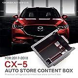 LFOTPP CX-5 CX5 Handschuhfach Armlehne Aufbewahrungsbox Center Console Armrest Storage Box Innen Auto Zubehör